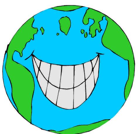 earth smile